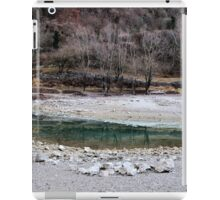 Fall at the mountain's lake iPad Case/Skin