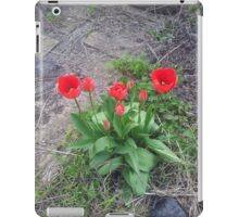 Red Tulips two iPad Case/Skin