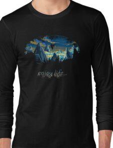 Enjoy Life / Marceline (adventure time) <3 Long Sleeve T-Shirt