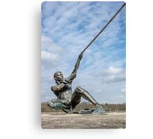 The Mariners Sculpture Canvas Print