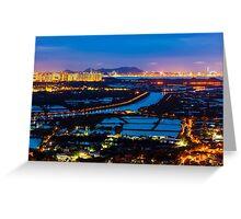 Sunset ponds Greeting Card