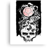 Dodecahedron Skull Canvas Print