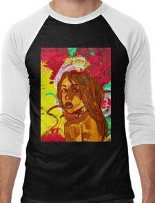 Aaliyah Men's Baseball ¾ T-Shirt