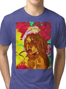 Aaliyah Tri-blend T-Shirt