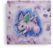 Nidoran [watercolour] Canvas Print