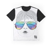 Kid with Glasses Graphic T-Shirt