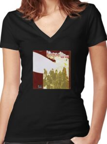 Rogue (II) (vinyl square version) Women's Fitted V-Neck T-Shirt