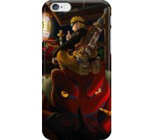 Naruto and Gamakichi iPhone Case/Skin