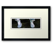 Shoes Marty McFly BTF  Framed Print