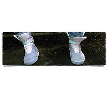 Shoes Marty McFly BTF  Photographic Print