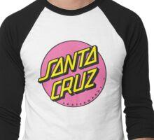 Santa Cruz 90's Logo Men's Baseball ¾ T-Shirt
