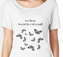 Vintage Butterfly Women's Relaxed Fit T-Shirt