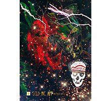 Life and Death Skull Boy Photographic Print