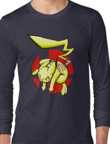 Pika smash bros Long Sleeve T-Shirt
