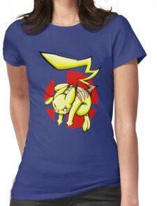Pika smash bros Womens Fitted T-Shirt