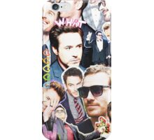 rdj/fassy collage iPhone Case/Skin