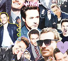 rdj/fassy collage by cocosuspenders