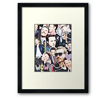 rdj/fassy collage Framed Print