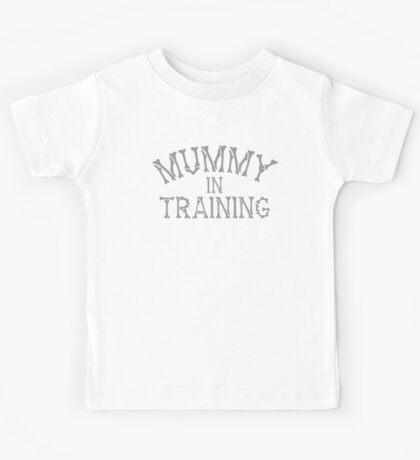 mummy in training Kids Tee