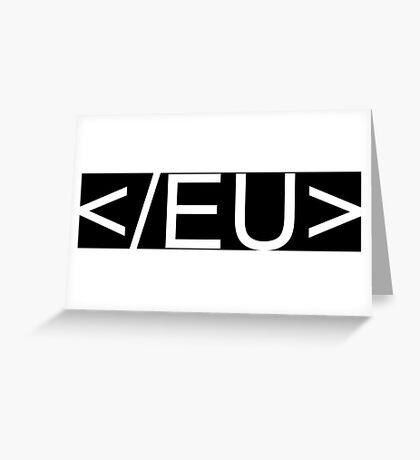 End the EU Greeting Card