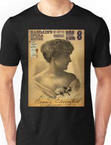 Fanny Davenport - Courier - 1881 Unisex T-Shirt