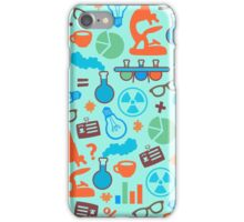 Colorful Scientist Pattern iPhone Case/Skin