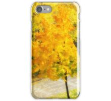 Autumn colorful maple iPhone Case/Skin