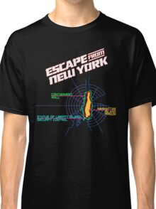 ESCAPE FROM NEW YORK - ISLAND MAP (1) Classic T-Shirt