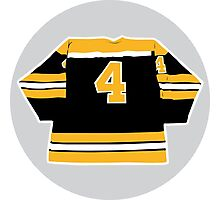 Bobby Orr - Number 4 Photographic Print