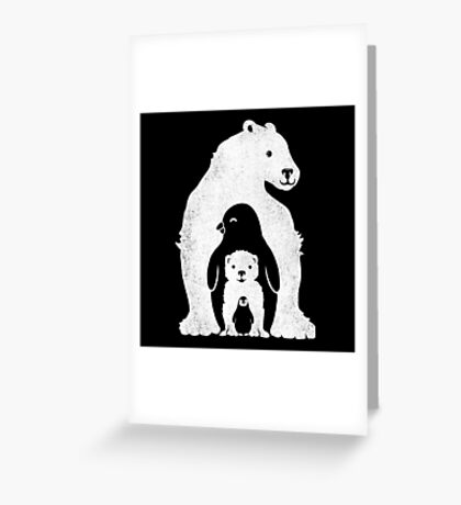 Arctic Friends Greeting Card