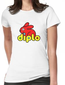 Diplo (Duplo parody) Womens Fitted T-Shirt