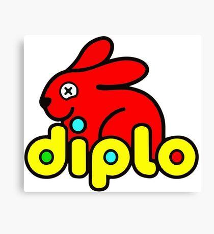 Diplo (Duplo parody) Canvas Print
