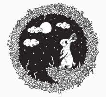 NightSeries_Rabbit Baby Tee