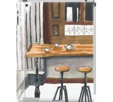 Little cafe iPad Case/Skin