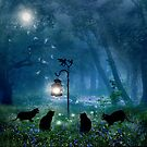 The Witches Cats (square) by Angie Latham
