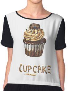 Cupcake for breakfast Chiffon Top