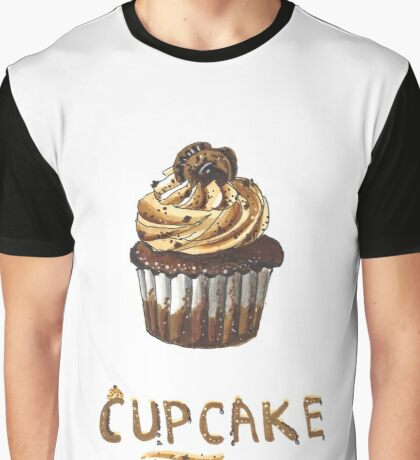 Cupcake for breakfast Graphic T-Shirt