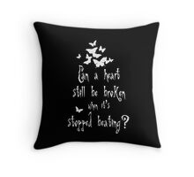 Corpse Bride quote one Throw Pillow