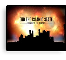 End The Islamic State Canvas Print