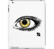 Yellow eye iPad Case/Skin