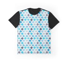 Patchy Crosses Graphic T-Shirt