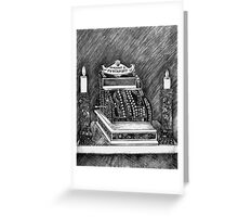The Altar of the Cash Cow Greeting Card