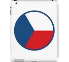 Czech Air Force - Roundel iPad Case/Skin