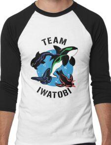 Team Iwatobi Variant Men's Baseball ¾ T-Shirt