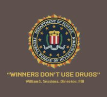 Winners Don't Use Drugs T-Shirt