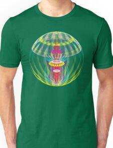 Alien sphere fractal fantasy Unisex T-Shirt