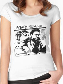 Hyperdrive  Women's Fitted Scoop T-Shirt