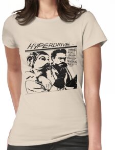 Hyperdrive  Womens Fitted T-Shirt