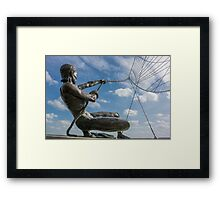 The Mariners Sculpture Framed Print