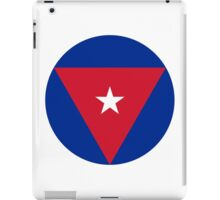 Cuban Air Force - Roundel iPad Case/Skin